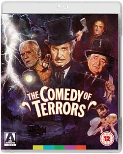 The Comedy of Terrors 1964 Blu-ray / with DVD - Double Play - Volume.ro
