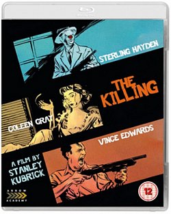 The Killing/Killer's Kiss 1956 Blu-ray - Volume.ro