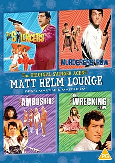 Matt Helm Lounge: The Silencers/Murderers' Row/The Ambushers/ 1968 DVD / Box Set