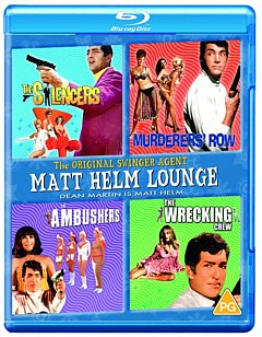 Matt Helm Lounge: The Silencers/Murderers' Row/The Ambushers/ 1968 Blu-ray / Box Set