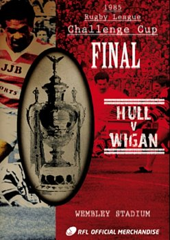 Rugby League Challenge Cup Final: 1985 - Hull V Wigan 1985 DVD - Volume.ro