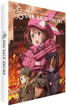 Sword Art Online Alternative Gun Gale Online: Complete Series 2018 Blu-ray / with DVD - Double Play - Volume.ro