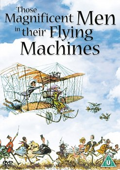 Those Magnificent Men in Their Flying Machines 1965 DVD - Volume.ro