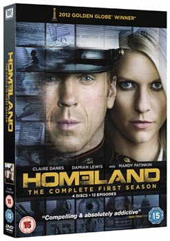 Homeland: The Complete First Season 2011 DVD / Box Set - Volume.ro