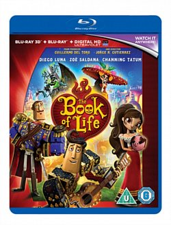 The Book of Life 2014 Blu-ray / 3D Edition + UltraViolet Copy - Volume.ro