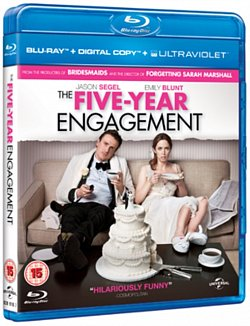 The Five-year Engagement 2012 Blu-ray / + UltraViolet Copy and Digital Copy - Volume.ro