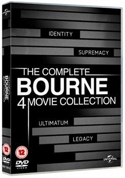 The Bourne Collection 2012 DVD / Box Set - Volume.ro
