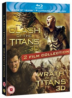 Clash of the Titans/Wrath of the Titans 2012 Blu-ray / 3D Edition with 2D Edition - Volume.ro