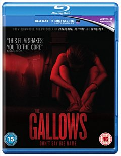 The Gallows 2015 Blu-ray