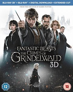 Fantastic Beasts: The Crimes of Grindelwald 2018 Blu-ray / 3D Edition with 2D Edition + Digital Download