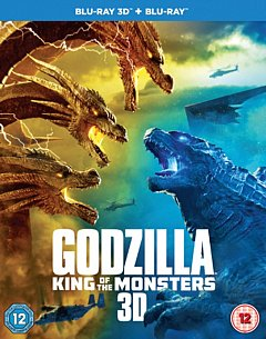 Godzilla - King of the Monsters 2019 Blu-ray / 3D Edition with 2D Edition