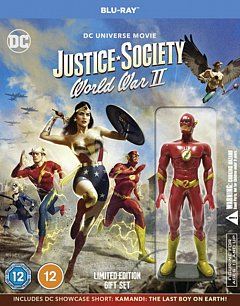 Justice Society: World War II 2021 Blu-ray / Limited Edition Gift Set