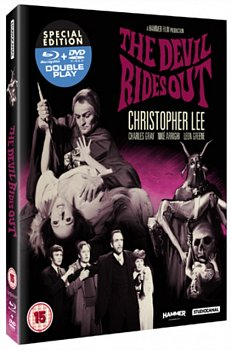 The Devil Rides Out 1967 Blu-ray / with DVD - Double Play - Volume.ro