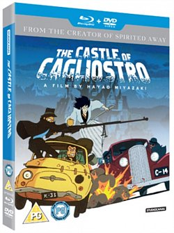 The Castle of Cagliostro 1979 Blu-ray / with DVD - Double Play - Volume.ro