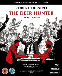 The Deer Hunter 1978 Blu-ray / 4K Ultra HD + Blu-ray + CD (40th Anniversary Collector's Edition)