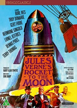 Jules Verne's Rocket to the Moon 1967 DVD / Restored - Volume.ro