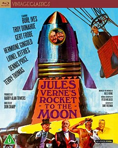 Jules Verne's Rocket to the Moon 1967 Blu-ray / Restored