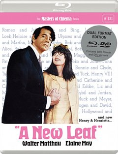 A   New Leaf - The Masters of Cinema Series 1971 Blu-ray / with DVD - Double Play