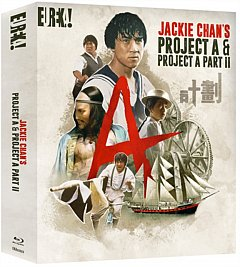 Jackie Chan's Project a & Project A: Part II 1987 Blu-ray / Box Set
