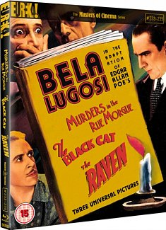 Murders in the Rue Morgue/The Black Cat/The Raven - The Masters 1935 Blu-ray / Limited Edition O-Card Slipcase + Collector's Booklet