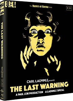 The Last Warning - The Masters of Cinema Series 1928 Blu-ray / Limited Edition O-Card Slipcase + Collector's Booklet