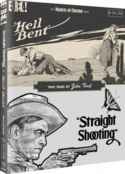Straight Shooting/Hell Bent - The Masters of Cinema Series 1918 Blu-ray / Limited Edition O-Card Slipcase + Collector's Booklet - Volume.ro