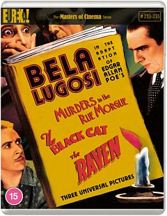 Murders in the Rue Morgue/The Black Cat/The Raven - The Masters 1935 Blu-ray
