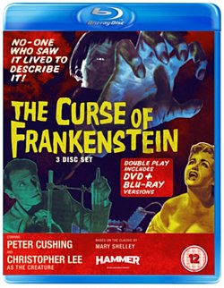 The Curse of Frankenstein 1957 Blu-ray / with DVD - Double Play - Volume.ro