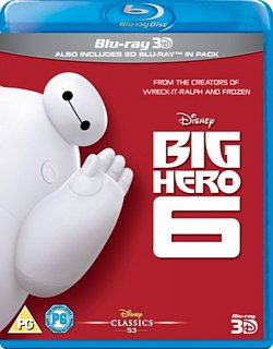 Big Hero 6 2014 Blu-ray / 3D Edition with 2D Edition - Volume.ro